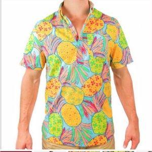 Chubbies The Nutter Hawaiian Pineapple Shirt
